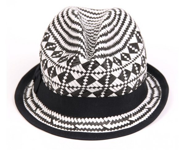 Aztec Straw Hat