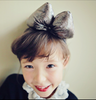 Metallic BOW HAIRBAND