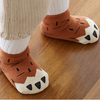 Paw Socks (Brown)