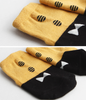 Button TIE Socks (Mustard)