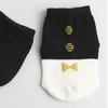 Button TIE Socks (BLACK)