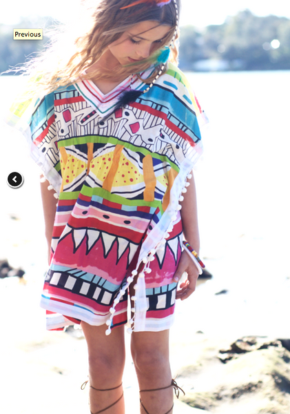 Aztec Bright Summer DRess