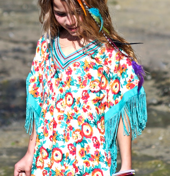 Sea Mist Kaftan DRess