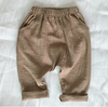 DROP CROTCH PANTS (Tan)