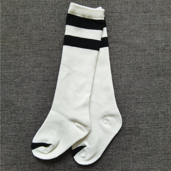 2 Stripes Socks (White)