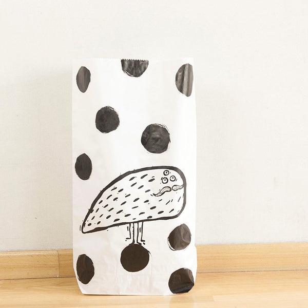 Flea in Polka Dots Paper Bag - Medium