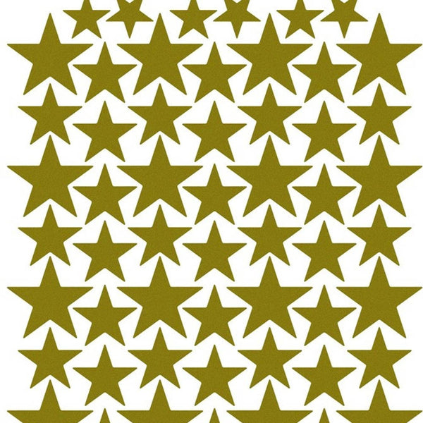 GOLD STARS VINYL WALL DECALS