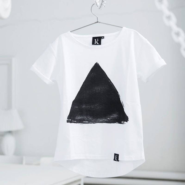 Tee Triangle White