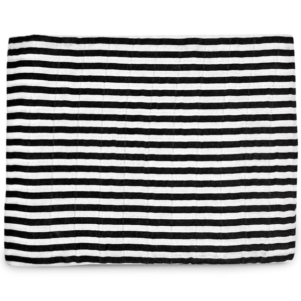 Organic Swaddle Blanket - STRIPES