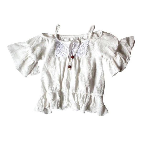 White Gauze BOHO Top