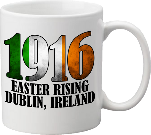 1916 Easter Rising - Tri Color Coffee Mug