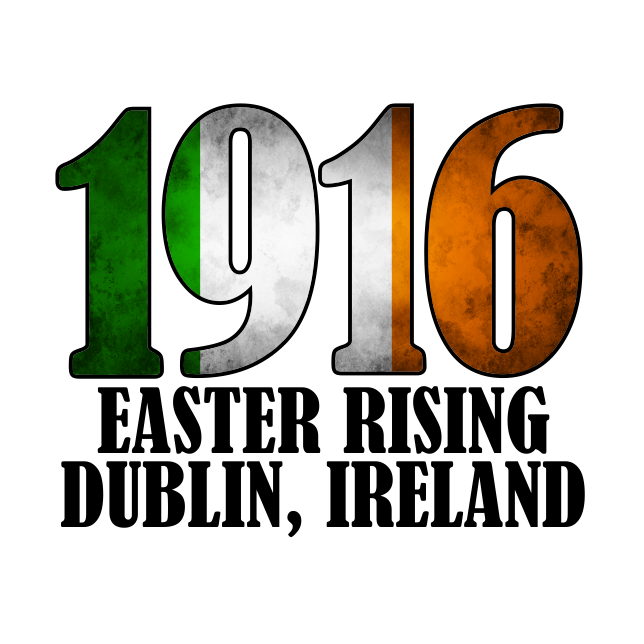 1916 Easter Rising - Tri-Color T-shirt