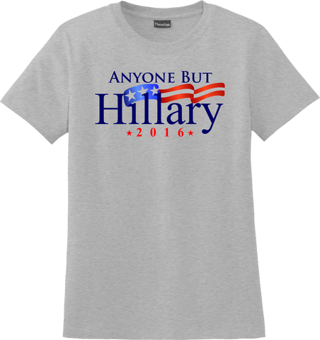 Hillary- Anyone But Hillary