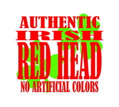 Authentic Irish Redhead