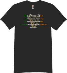 Big Strong Man Lyrics T-Shirt