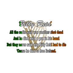 Billy Reid Lyric T-Shirt