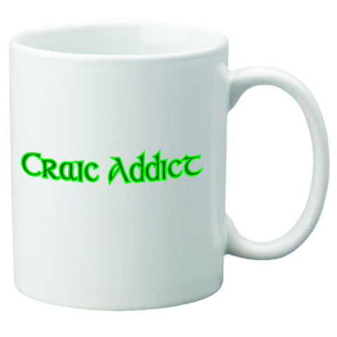 Craic Addict Coffee Mug