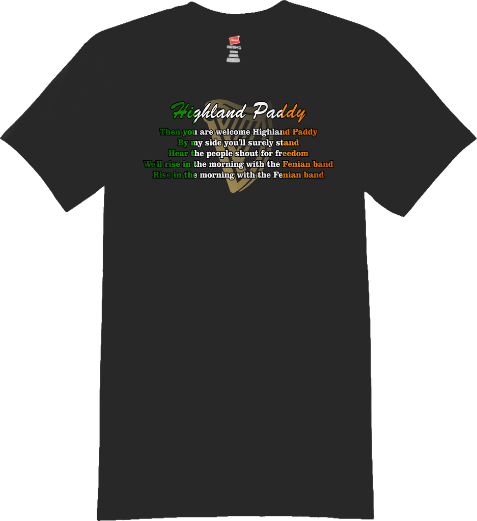 Highland Paddy Lyric T-Shirt