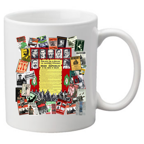 Irish Proclamation & IRA Posters Coffee Mug