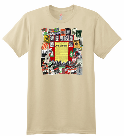 Irish Proclamation & IRA Posters T-shirt
