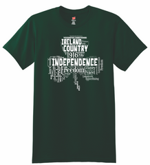 Ireland Freedom Shamrock T-Shirt