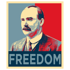 "James Connolly ""Freedom"" T-Shirt"