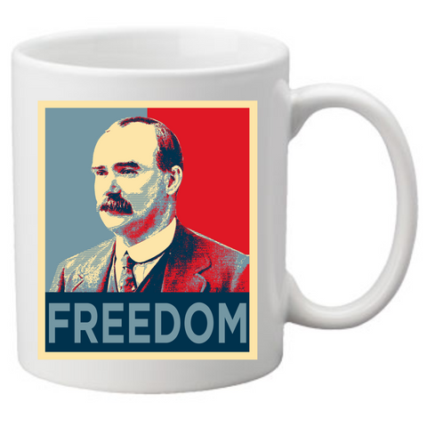 "James Connolly ""Freedom"" Coffee Mug"