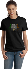 On The One Road Lyrics T-Shirt
