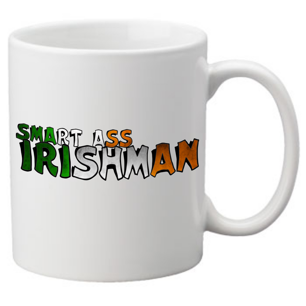 SMART ASS IRISHMAN Coffee Mug