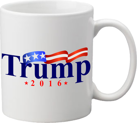 Trump in 2016 or Anyone But Trump Coffee Mug