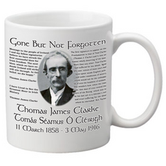 Set of all 7 Signers of the Irish Proclamation Coffee Mugs