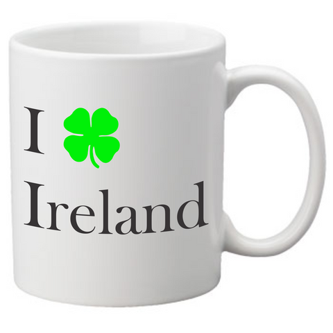 I Love Ireland Coffee Mug