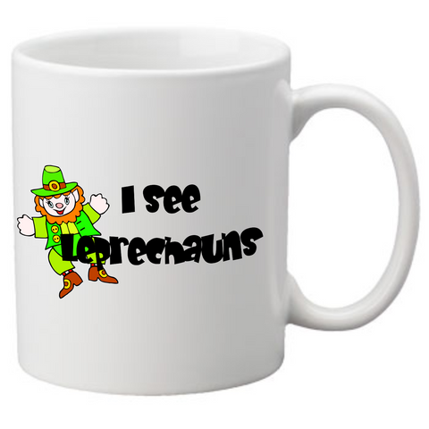 i see leprechauns Coffee Mug