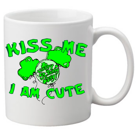 kiss me i am cute Coffee Mug