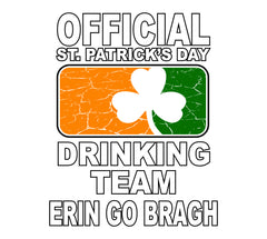 Official Irish drinking team