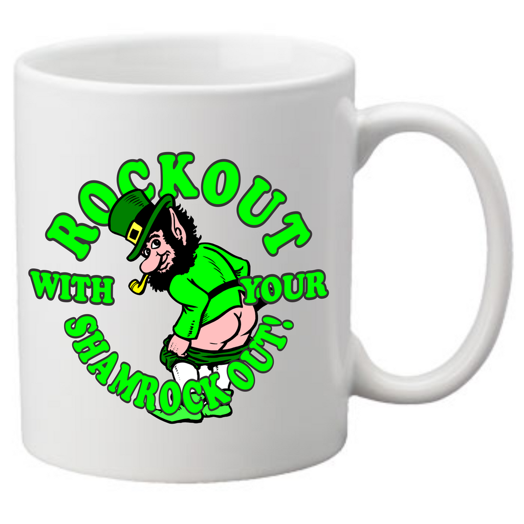 Rock out with your shamrock out Coffee Mug