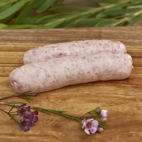 True Free Range Pork and Apple Sausages