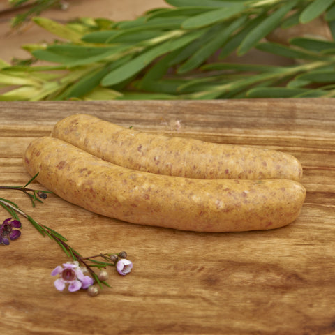 Free Range Pork and Wasabi Sausages