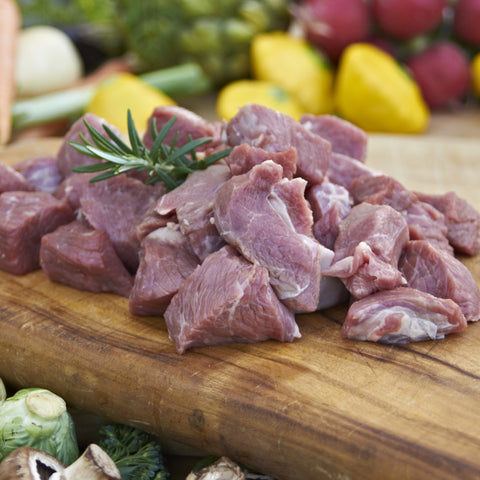 Pasture Fed Free Range Lamb Diced Lamb (Shoulder)