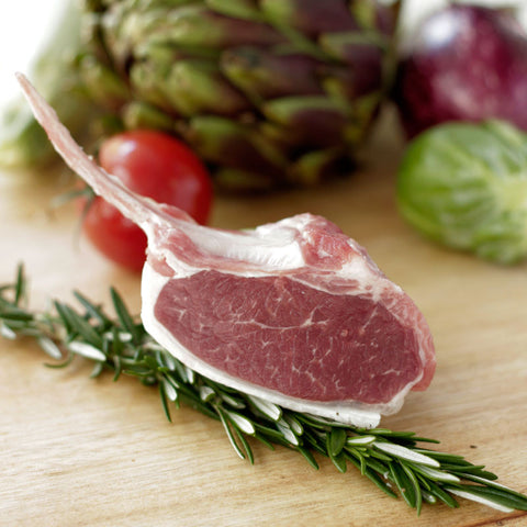Pasture Fed Free Range Lamb Cutlets