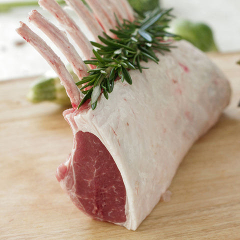 Pasture Fed Free Range Rack of Lamb