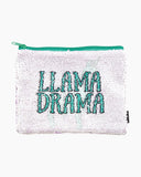 Magic Sequin Llama/Drama Reveal Pouch