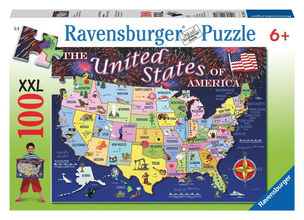 USA Statemap 100 pc Puzzle (Need Photo)