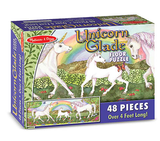 Unicorn Glade Floor Puzzle