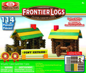Frontier Logs - 114 pc.