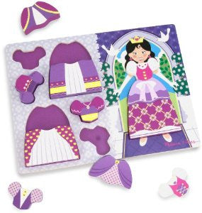 PRINCESS DRESS-UP CHUNKY PUZZLE