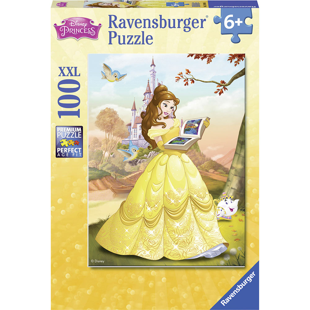 Belle Reads a Fairy Tall 100pc Puzzle