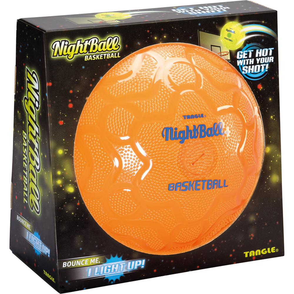 Orange Basketball Nightball