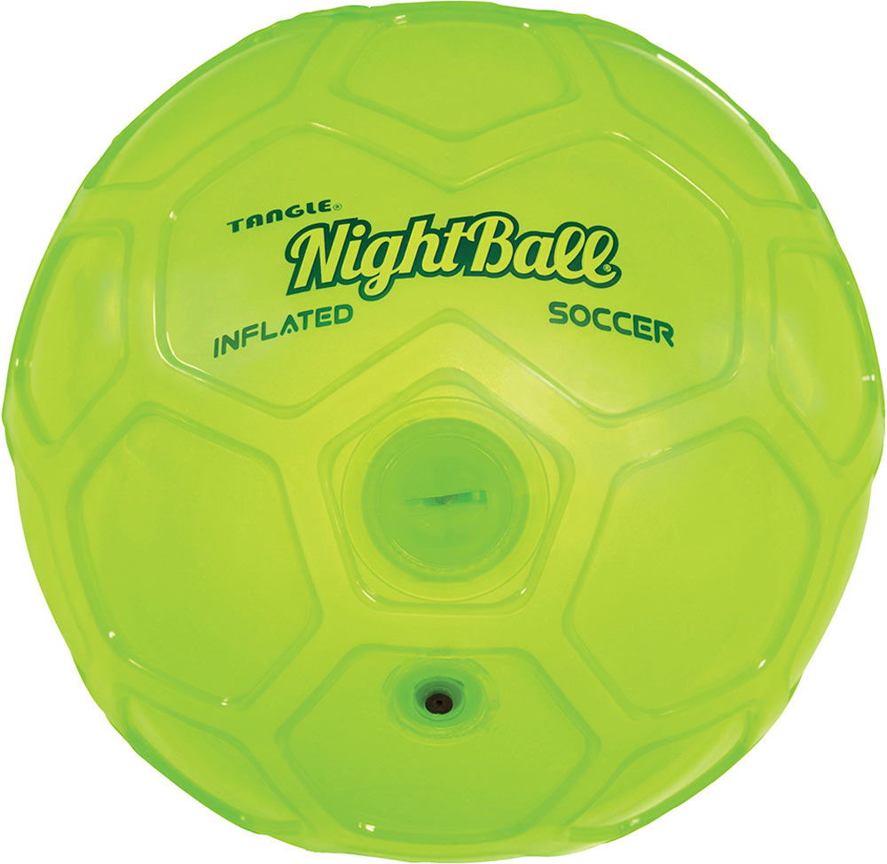 NightBall Inflated Soccer - Green