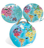 Our Blue Planet Round Double Sided Puzzle 208 pcs